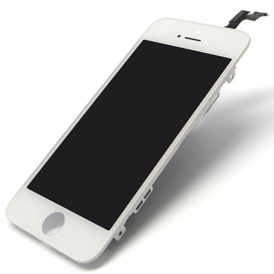 Cellphone LCD Module Touch Panel for iPhone 5/5c/5s/Se LCD Front Glass with Frame, Factory Wholesale Supply