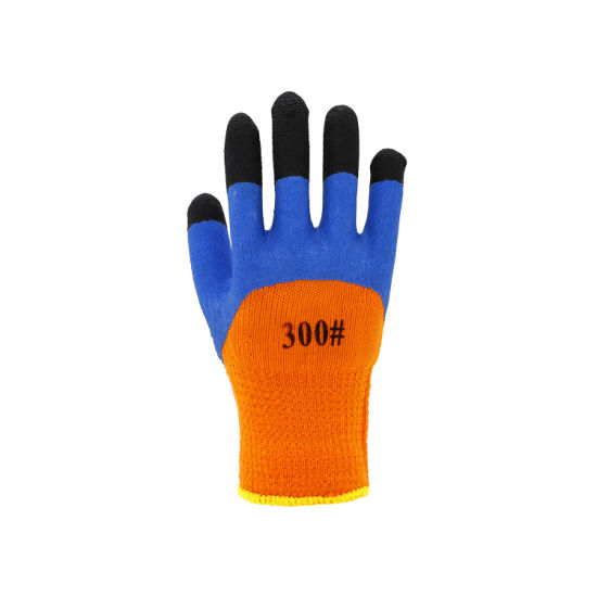 Latex Foam Strong Finger Breathable Labor Gloves