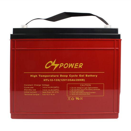 Maintenance Free 12V 150ah Solar Gel Battery