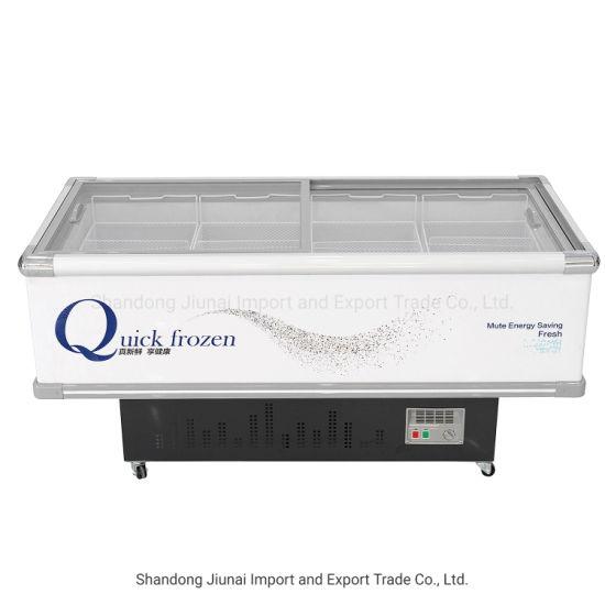China Factory Seller Supermarket Used Island Display Freezer for Seafood Freezer/Display Sale with Lowest Price