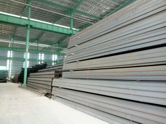 Hot Rolled Steel Structural Q235 H Shaped Galvanized Steel Beams Used for Construction / Iron H Beam