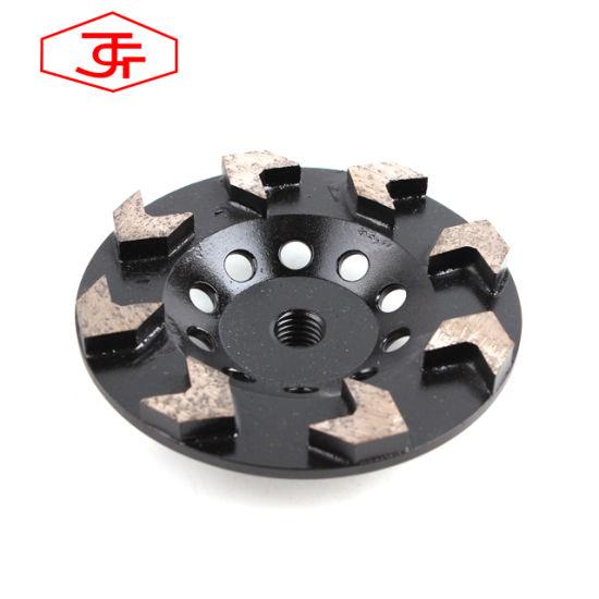Jiangsu Danyang Special Shaped Segment Grinding Cup Wheel for Stone