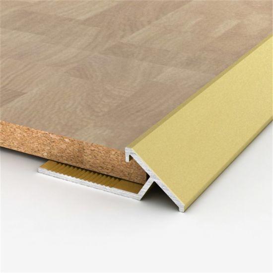 Low Price High Quality Aluminum Carpet Edge Strip Gold Carpet to Floor  Carpet Trim
