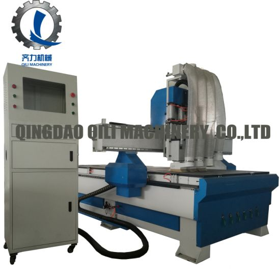 Four Spindle Woodworking CNC Router for Kitchen Cabinet
