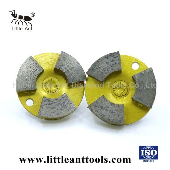 Reforced Concrete Grinding Block (Round three teeth)