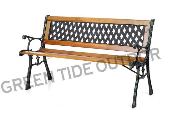Outdoor Garden Patio Furniture Cast, Timber Bench Outdoor Furniture