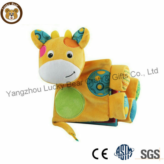Hotsale Baby Soft Plush Book Educational Toy