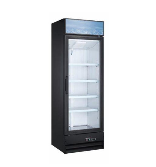 Big Capacity Vertical Blast Deep Display Freezer with Glass Door