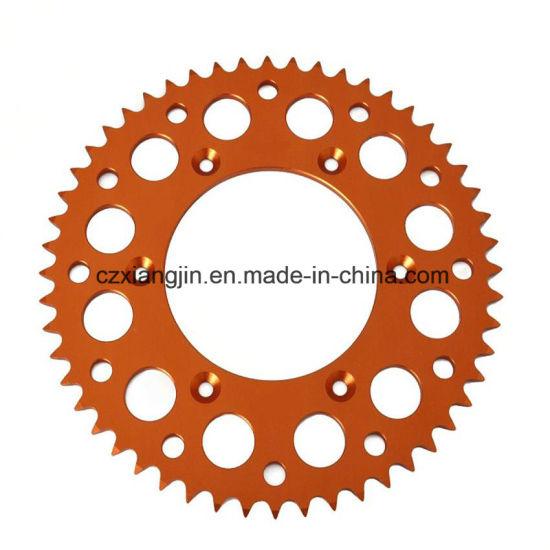 Ktm Alunimiun 7075t6 CNC Aluminum Rear Chain Sprocket