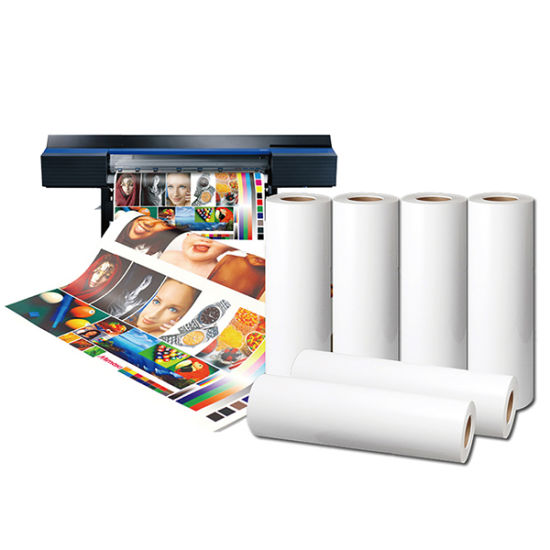 New Sublimation Heat Transfer Paper for Cotton or Polyester Fabric