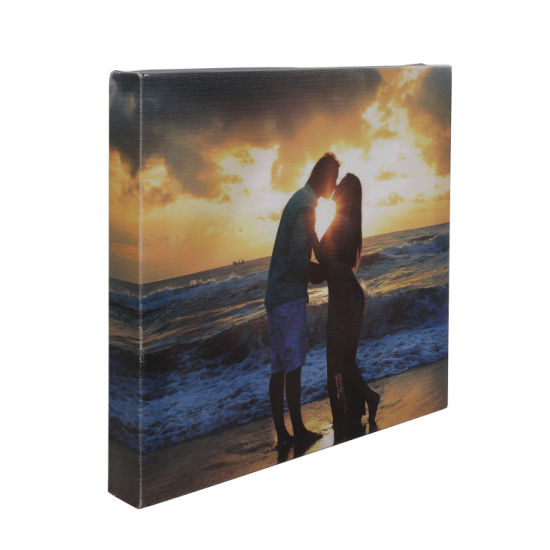 Creative and Customized Canvas Photo Picture Frame for Decoration