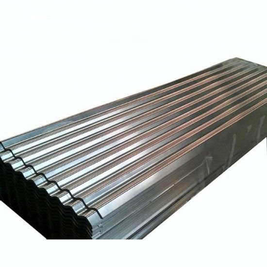 Bwg34 Bhushan Galvanized Steel Sheet Building Materials Corrugated Sheet Galvanized Roofing Sheets in Ethiopia
