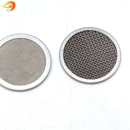 Stainless Steel Wire Mesh Extruder Screen Multilayer Filter Disc