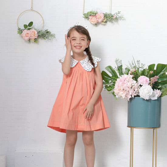 New Children Clothing Kids Wear Summer Casuals Cotton Dress for Girls Baby