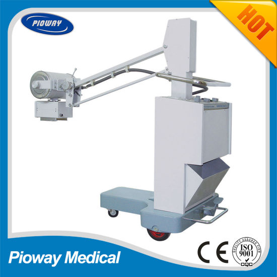 Mobile X-ray Radiography Medical Diagnostic Machine/Equipment 50mA (PLX102)
