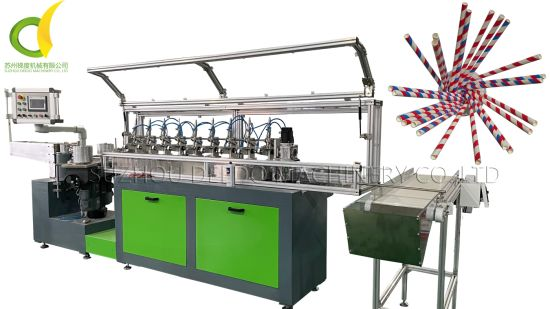 Full Servo Control Machine to Make Straws