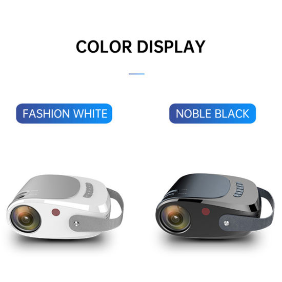 2021 New Wholesale 3300 Lumens LED Projector for Business Travel Home Theater Video Projector