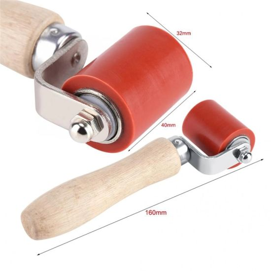 Silicone High Temp Resistant Seam Hand Pressure Roller Roofing PVC Welding Tool