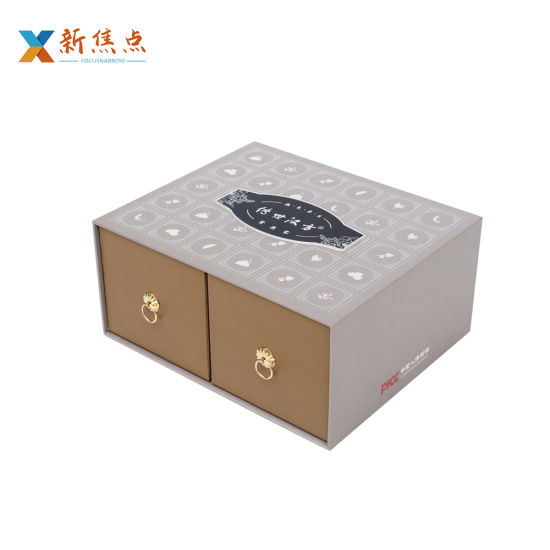 Custom Manufacturer Carboard High-End Printing Drawer Gift Packaging Box