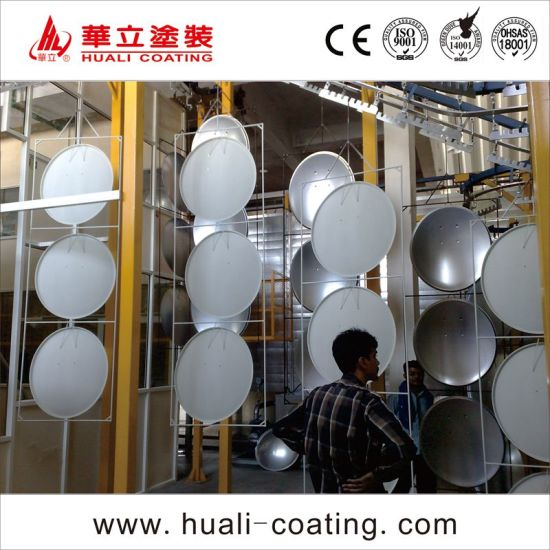 Fully Automatic Powder Coating Production Line for Satellite Antenna Receiver