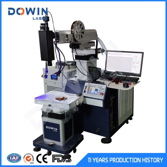 200W 300W 400W Mould Repair YAG Laser Welding Machine for Stainelss Steel Gold Silver Jewelry