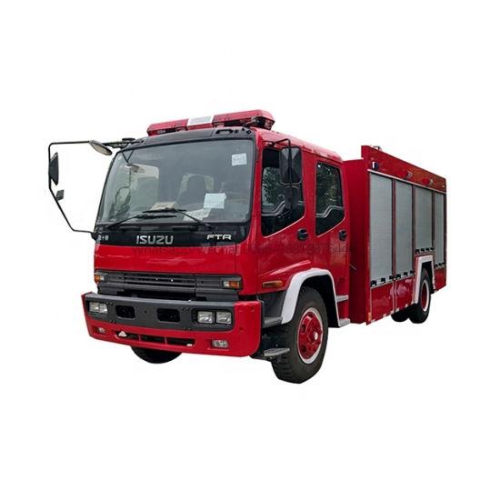 Good Quality Isuzu Ftr Fvr 5000liters 6000liters 7000liters Fire Truck