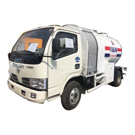 Dongfeng 5000liters 5500liters Mini LPG Truck with LPG Dispenser