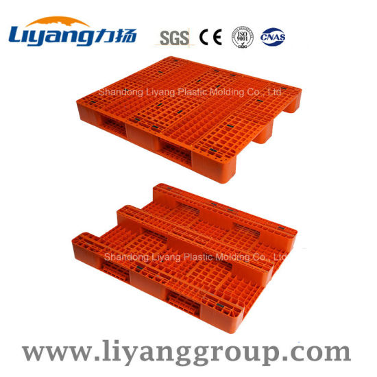 1300X1100mm PP/PE Hygienic Steel Reinforced Plastic Pallet for Logistics
