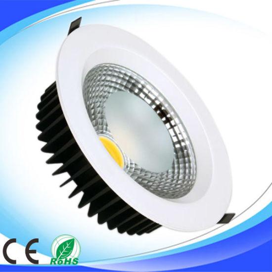 18W LED Down Light Die-Casting Aluminum COB LED Downlight