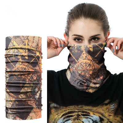 Wholesale Custom High Quality Seamless Multifunctional Headwear Bandanas Magic Scarf