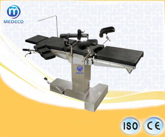 Mechanical Hydraulic Surgical Operating Table (Jt-2A (new type)) pictures & photos