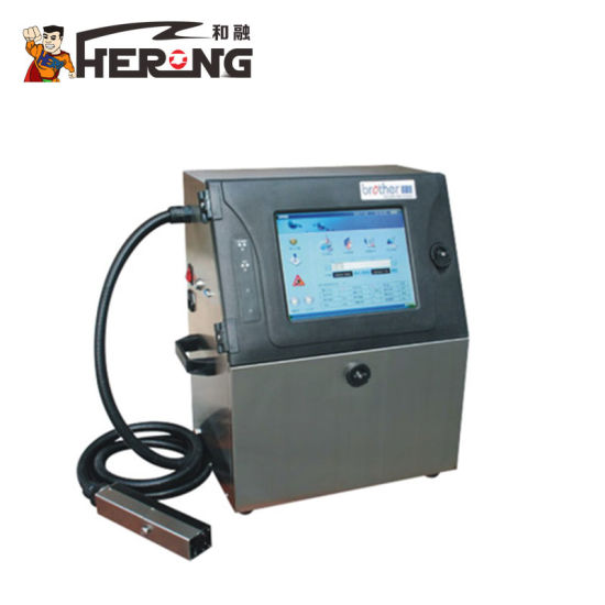 Hero Brand Ink Paper Barcode Printer Sale Qr Code Inkjet Character Portable Hot Stamping Date Coder pictures & photos