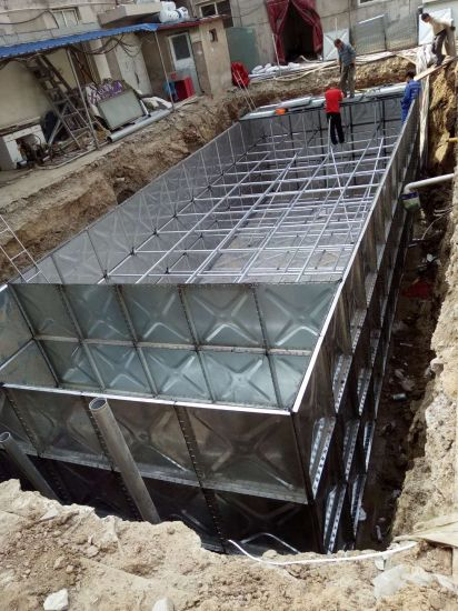 China Technical Innovation Bdf Underground Steel Water Tank