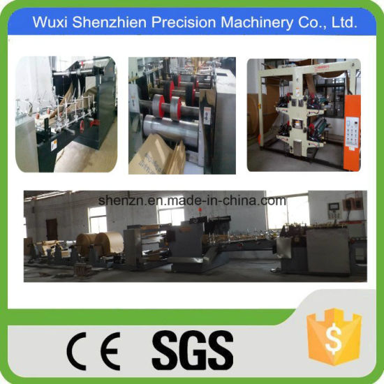 Non Woven Bags Manufacturing Process Kraft Paper Cement Bag Making Machine