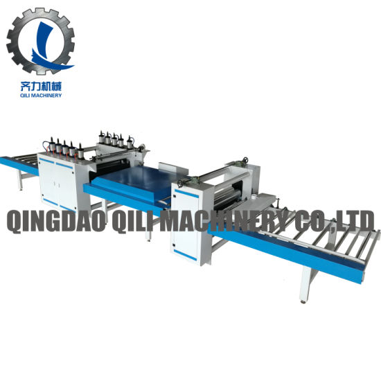 Woodworking PVC Film Laminating Machine for MDF Panel