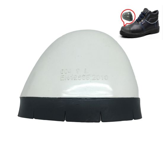 Steel/Fiberglass/Plastic Toe Caps Used in Safety Shoes, Labor Protection Factory Work Shoe