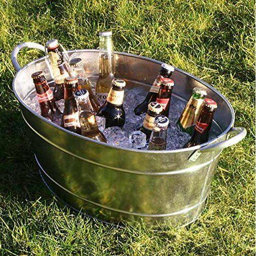 Galvanised Steel Oval Party Tub Beverage Tub Ice Bucket pictures & photos