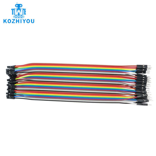 5 X For Arduino Shield 40pcs×20cm Male to Female Wire Jumper Dupont cables New