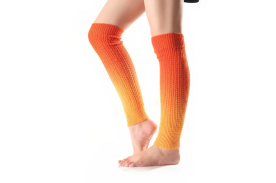 Acrylic Knitted Adult Boot Leg Warmer pictures & photos