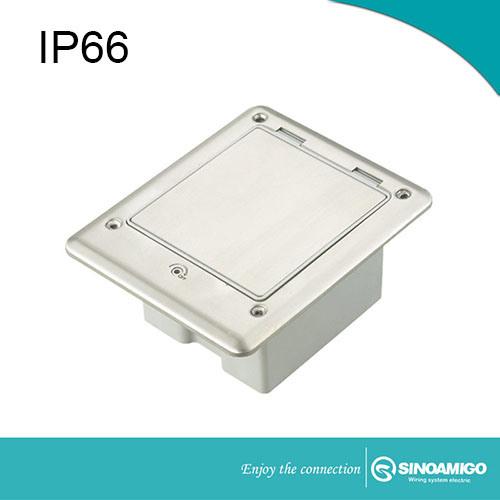 Sinoamigo IP66 Outdoor Waterproof Floor Box