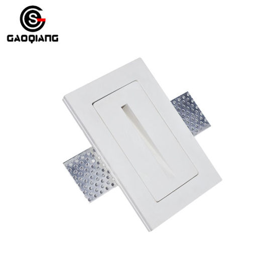 China up and down wall light led gesso gypsum rectangular recessed up and down wall light led gesso gypsum rectangular recessed lights ce rohs approved gqd8007a aloadofball Images