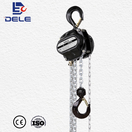 China High Quality Chain Pulley Block Df New Design - China