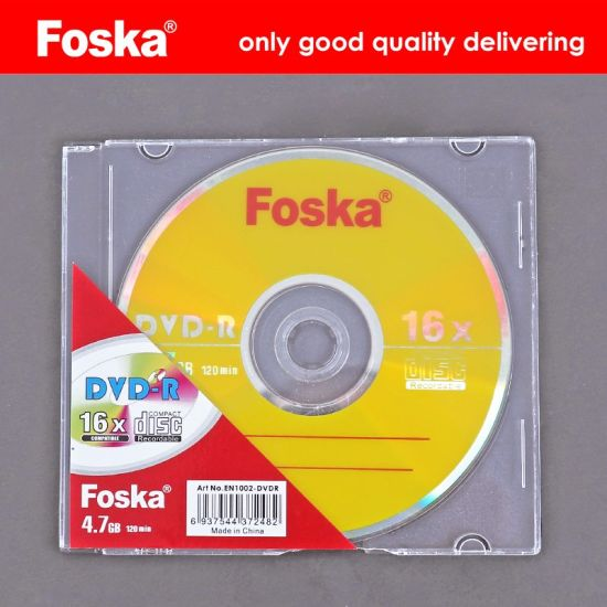 Foska Good Quality 4.7g Printing DVD Disk