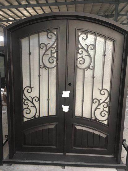 Chinese Commercial Double Steel Security Doors Exterior China Door