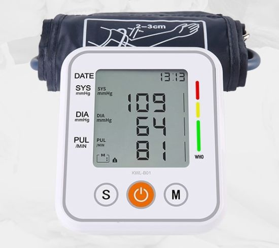 Wearable Portable Wrist Smart Digital Blood Pressure Monitor Bp Machine