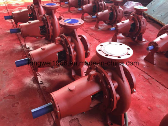 Horzontal Single Stage End Suction Centrifugal Water Pump (XA 150/32) pictures & photos