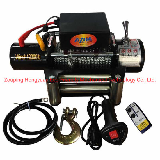 12000lbs Auto Car Electric Winch UTV ATV