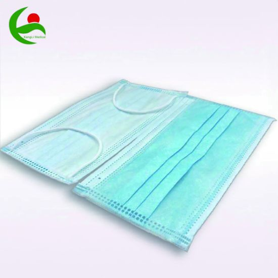 Earloop Disposable Non Woven 3 Ply Surgical Medical Face Mask Wholesale