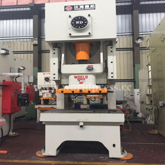 China C Frame 80 Ton Mechanical Hole Punching Press Machine for