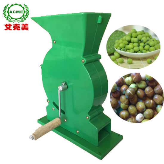 Easy to Operate Manual Drive Lotus Seed Core Removing Lotus Seeds Peeler pictures & photos